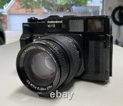 Fujifilm GW690 Medium Format Film Camera With Fujinon 90mm 3.5 Lens Tested/Working
