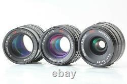 Full set / Case Mint Contax G2 Black body + 28mm 45mm 90mm Lens + TLA200 JAPAN