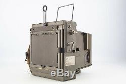 Graflex Combat 4x5 Large Format US Navy Military Camera With Kodak 127mm Lens V7