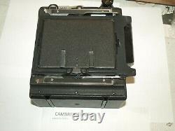 Graflex Crown Graphic 4x5 Press Camera with 135mm f4.7 Wollensak Raptar lens