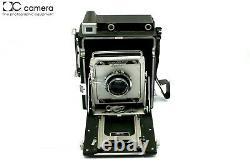 Graflex Crown Graphic Special 4x5 Camera, Schneider 135mm f4.7 Xenar Lens #29437