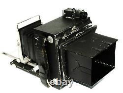 Graflex Speed Graphic 4x5 Field Camera With 135mm f4.7 Optar Lens
