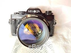 Great Minolta X700 Camera with Rokkor PG 58mm f1.2 Lens
