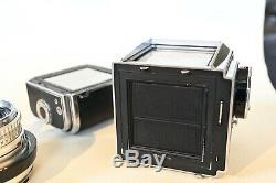 Hasselblad 500C Camera with Planar 80mm F2.8 C Lens & Magazine 12 + Extras