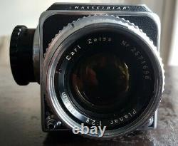 Hasselblad 500C Camera with Planar C 80mm 2.8 Carl Zeiss Lens