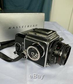 Hasselblad 500C/M 120mm Medium Format Film Camera with 80mm lens Kit