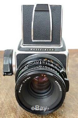 Hasselblad 500C/M Medium Format Film Camera + 80mm f/2.8 CF Lens + WLF + RFH Kit
