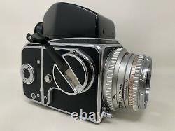Hasselblad 500C with Carl Zeiss Planar 80mm F/2.8 Lens +A12 Back + Viewer READ