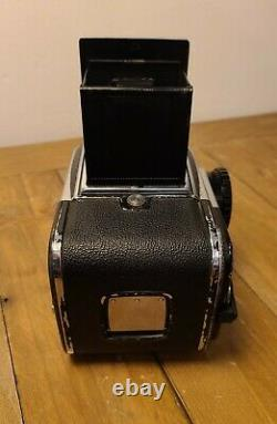 Hasselblad 500c Medium Format Camera 80mm f2.8 lens and early A12 back 120 film