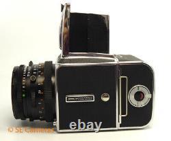 Hasselblad 500c/m 500cm Camera & Planar 80mm 2.8 T Cf Lens, A12 Back Near Mint