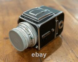 Hasselblad 500c with Zeiss Planar 80mm f/2.8 Lens and Kiev TTL Viewfinder