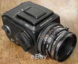 Hasselblad 503CX Medium Format Film Camera + 80mm F2.8 CF Lens + WLF + RFH Boxed