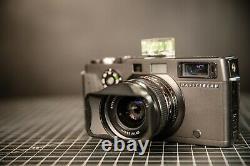 Hasselblad Xpan + 45/f4 lens + Original hood + Original leather bag