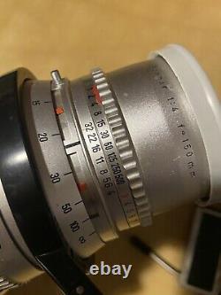 Hassleblad LOT W 500 C Medium camera Body, Synchro Compur Lens, Case, MORE