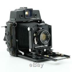 Horseman VH-R 6x9 Press Camera with Mamiya-Sekor 80mm F/2.8 Lens