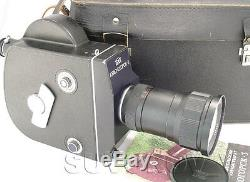 KRASNOGORSK-3 16mm Movie Camera ALMOST FULL SET Meteor-5-1 17-69mm f1.9 M42 lens