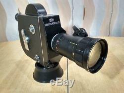 KRASNOGORSK-3 16mm Movie Cine Camera Meteor-5-1 17-69mm f1.9 zoom Lens USSR
