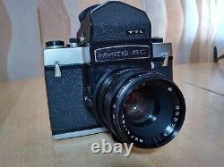 Kiev-6C TTL SLR Medium Format 6x6 USSR Vega-12 lens P6 Pentacon Six Mount USSR