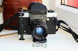 Kiev 6C TTL Soviet MEDIUM Format 120 mm PENTACON SIX COPY withs LENS VEGA EXC