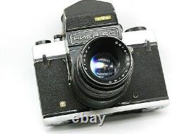 Kiev 6C TTL camera, SOVIET MEDIUM Format 6x6 PENTACON SIX VEGA 12B lens USSR