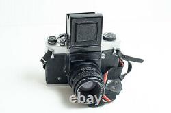 Kiev-6C + Vega-12B 2.8/90 medium format 6x6 film camera. EXCELLENT++