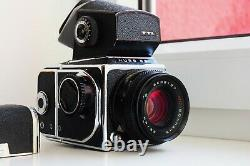 Kiev-88 Soviet MEDIUM Format 6x6 HASSELBLAD COPY FILM camera withs MC VOLNA-3B EXC