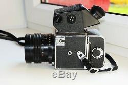 Kiev-88 USSR MEDIUM Format 6x6 HASSELBLAD COPY FILM camera withs MIR-38B EXC