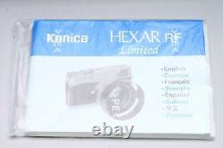 Konica Hexar Rf Limited Edition + M-hexanon 50mm F/1.2 Lens, Boxed Mint