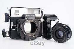 Konica Press 2 6x7 Medium Format Rangefinder Camera 90mm f/3.5 Lens 120 Back