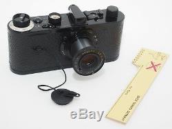 LEICA 0 Series Oskar Barnack Limited Edition camera withAnastigmat 50/3.5 lens