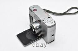 LENS MINT CONTAX T Silver Rangefinder 35mm Film Camera Body Only From JAPAN