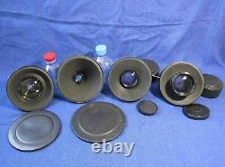 LOMO kit 4 lens OKC 1-28-1 OKS 8-35-1 1-75-1 1-100-1 35mm movie camera Rodina