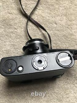 Leica CL 35mm Rangefinder Film Camera With Voigtlander 45mm 1.4 Lens