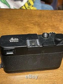 Leica CL 35mm Rangefinder Film Camera with SUMMICRON-C 40mm F2 Lens and 90mm F4