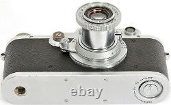 Leica III 35mm Rangefinder Camera + Industar-22 13.5 F=5cm Lens + LEICA Book