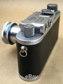 Leica IIIa 35mm Rangefinder 1936 Film Camera #219181 withLeitz Summar 5cm f/2 Lens