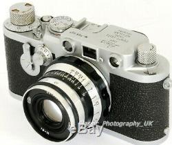 Leica IIIf / 3F Red Dial DELAY ACTION + FED Industar-61 2.8/53mm Soviet Lens