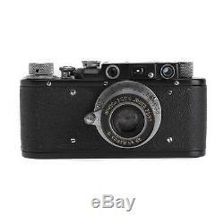 Leica II Black Copy with 50mm f3.5 SM lens film camera body #10771
