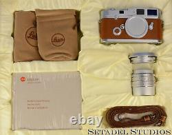 Leica Leitz 10307 Mp Edition Hermes Camera Outfit +35mm Summicron-m F2 Asph Lens