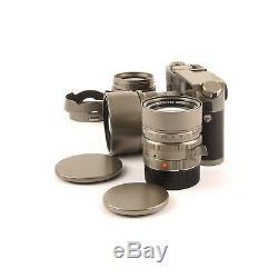 Leica Leitz M7 Titanium Big 3 Lens Set + Box Ultra Rare 10572 #752