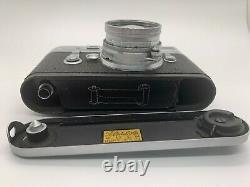 Leica M3 Double Stroke Rangefinder Camera + Summicron 50mm f2 Lens