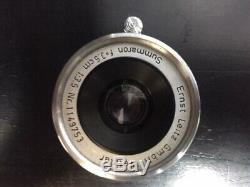 Leica M3 Double Stroke Rangefinder Film Camera With Leitz 3.5cm Lens Excellent