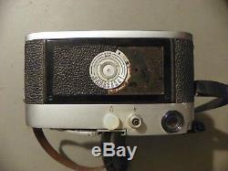 Leica M3 Film Camera With 90 MM F 2.8 Elmarit Lens Used Antique Vintage