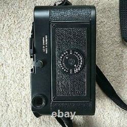 Leica M6 Classic Film Camera Old lens set