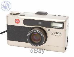 Leica Minilux 35mm Film Camera with SUMMARIT 40mm Lens