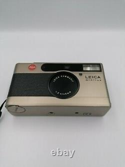 Leica Minilux 35mm legendary film camera SUMMARIT 40mm f 2.4 Lens Excellent