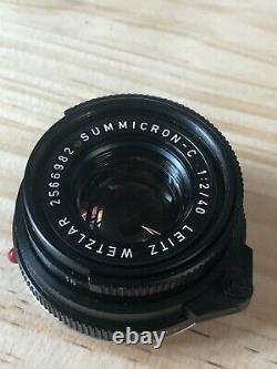 Leica m4-p with Summicron 40mm lens