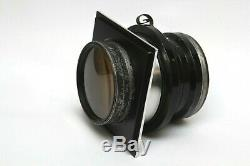 Lens Board Aero Ektar 7 178mm f2.5 for Anniversary Speed Graphic with thread