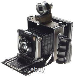 Linhof Super Technika IV complete kit 3 Schneider lens finder Rollex grip cased