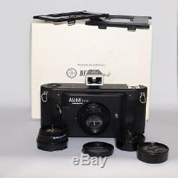 Lomography BELAIR x 6-12 Medium Format Film Camera Black 2 lens 6x12 format